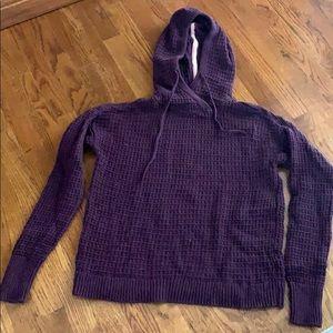 Victoria Secret Waffle sweater Hoodie Size XS